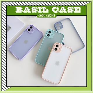 Ốp lưng iphone Viền nhựa dẻo mặt nhám 6s 6plus 6splus 7plus 8plus x xs xs max 11 11promax 12pro 12promax thumbnail
