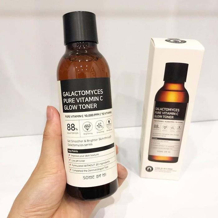 Nước Hoa Hồng Dưỡng Trắng, Chống Lão Hóa Some By Mi Galactomyces Pure  Vitamin C Glow Toner 200ml | Shopee Việt Nam