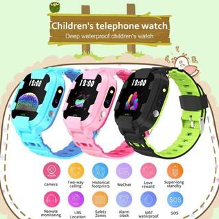Đồng hồ thông minh trẻ em Y88 Chống nước có Tiếng Việt
