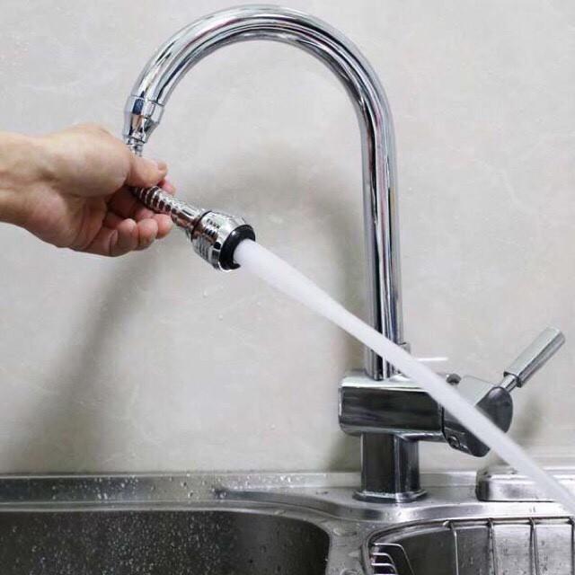Vòi nối tăng áp lực nước Turbo Flex 360 - 3279930 , 991554021 , 322_991554021 , 70000 , Voi-noi-tang-ap-luc-nuoc-Turbo-Flex-360-322_991554021 , shopee.vn , Vòi nối tăng áp lực nước Turbo Flex 360
