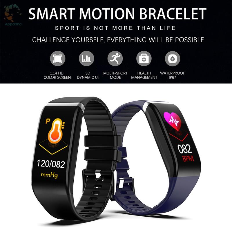 [BEST] Smart Bracelet Heart Rate Blood Pressure Oxygen Exercise Bluetooth Step