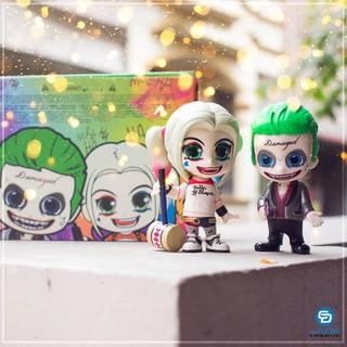 Mô hình Couple Harley Quinn và Joker Chibi
