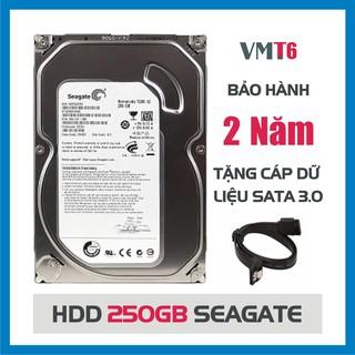 Ổ cứng HDD Seagate 250GB - Tháo máy đồng bộ mới 99% - Bảo hành chính hãng 24tháng 1 đổi 1