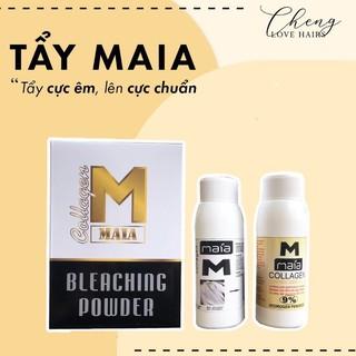 Tẩy tóc MAIA BLEACHING POWDER COLLAGEN – Tẩy cực êm, lên cực chuẩn – Chenglovehairs, Chenglovehair, Chengloveshair