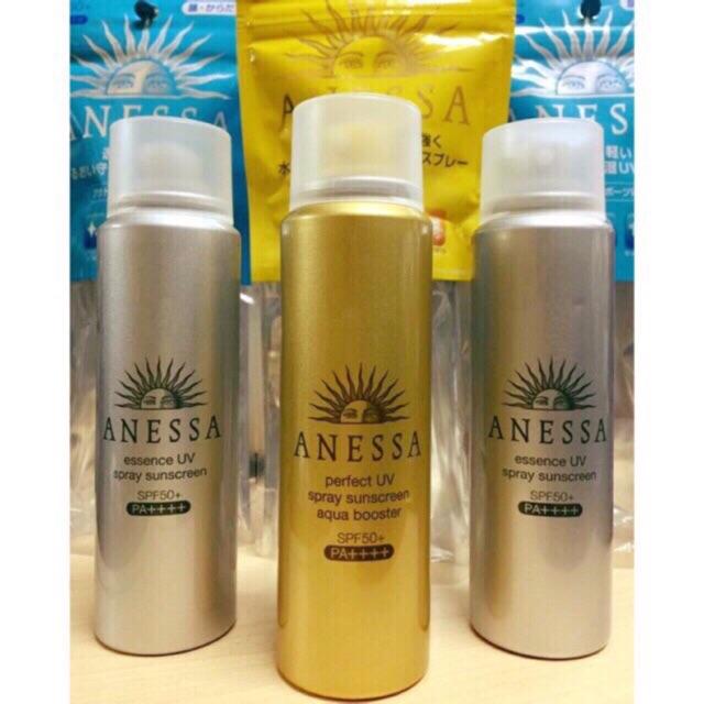 Kem chống nắng Shiseido Anessa perfect UV Spray Sunscreen Aqua Booster SPF50+/PA++++ dạng xịt?????? - 21697805 , 1225716819 , 322_1225716819 , 300000 , Kem-chong-nang-Shiseido-Anessa-perfect-UV-Spray-Sunscreen-Aqua-Booster-SPF50-PA-dang-xit-322_1225716819 , shopee.vn , Kem chống nắng Shiseido Anessa perfect UV Spray Sunscreen Aqua Booster SPF50+/PA++