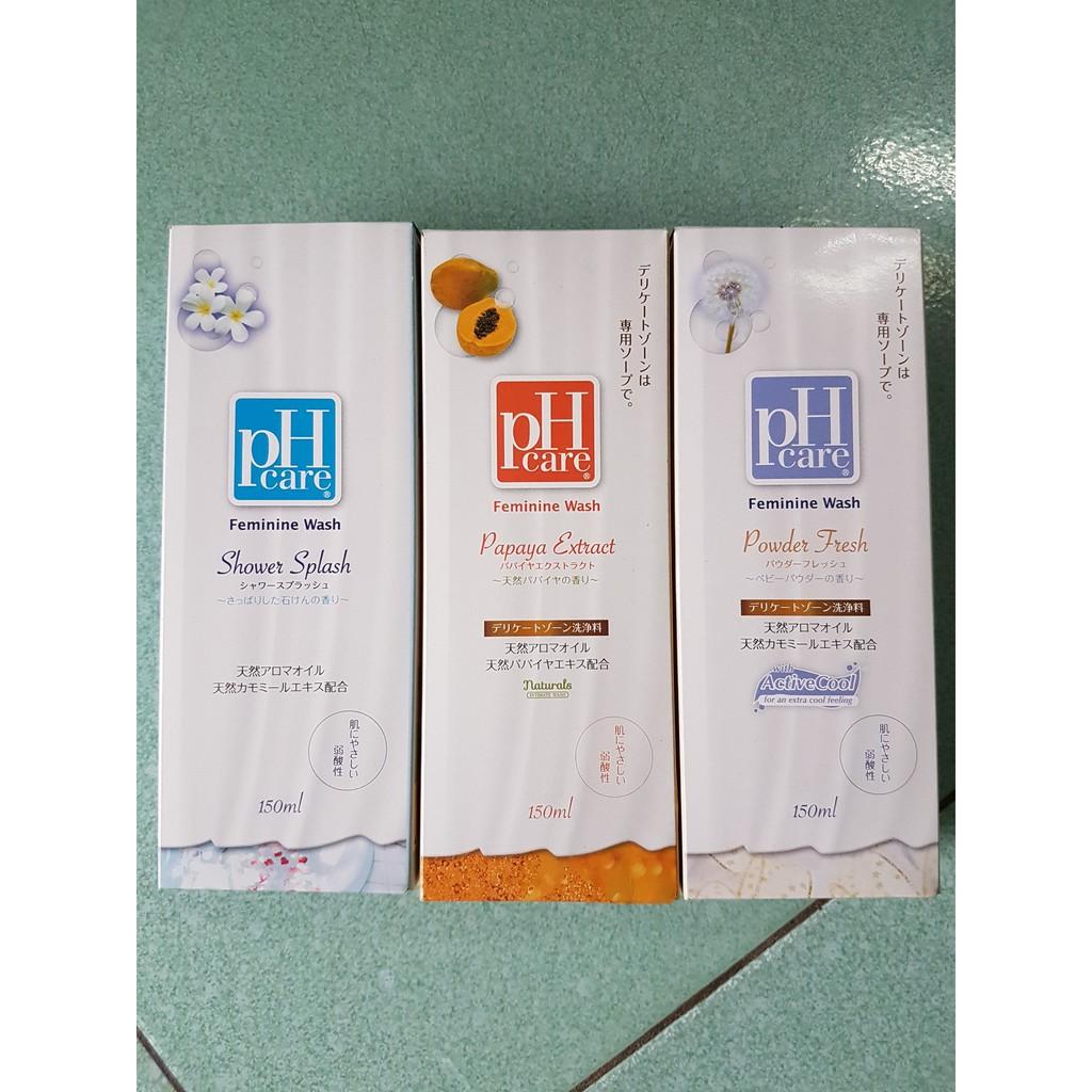 Dung dịch vệ sinh phụ nữ pH Care - Nhật Bản 150ml