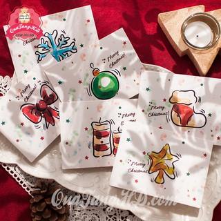 Thiệp Chúc Mừng Giáng Sinh Noel 9x12 Siêu Dễ Thương Có Bì Đựng Giá Sỉ thumbnail
