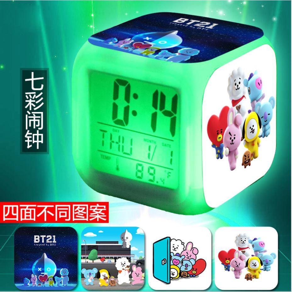 Đồng hồ LED báo thức TFBOYS, BTS