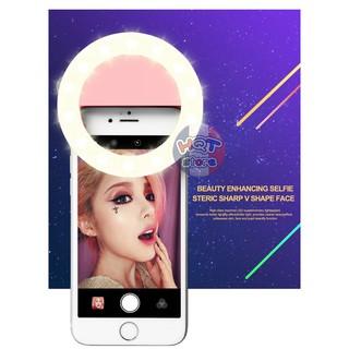 Đèn led chụp hình Selfie RK-14 Ring 360 độ thumbnail