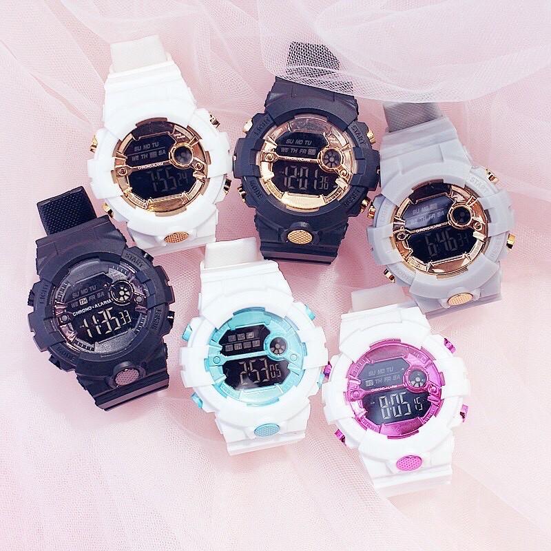 ( Giá Sỉ ) Đồng hồ thời trang nam nữ Sport điện tử full chức năng