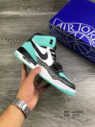 Giày bóng rổ Air Jordan AJ312 Tiffany Lakers American Fashion Sneakers 40-47