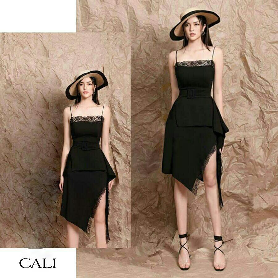 Đầm thiết kế - đầm vạt chéo Cali dress