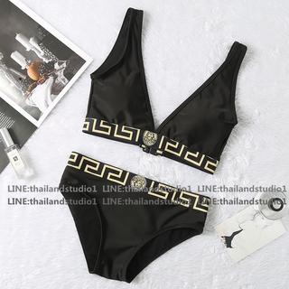 Thailandstudio 2020 Swimsuits bikini Backless V-neck Áo bơi Đồ bơi Thể thao dưới nước