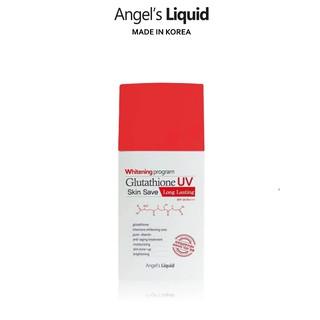 Kem chống nắng chống trôi Angel s Liquid Whitening Program Glutathione Uv Skin Save Long Lasting SPF50+ PA+++ 50ml thumbnail