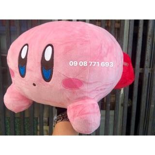 Thú bông Kirby nằm 24 x 44cm