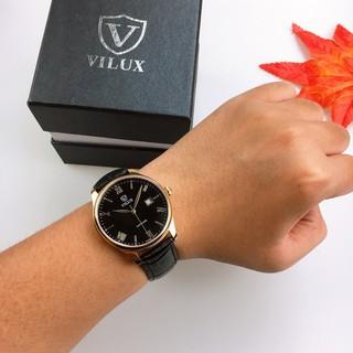 Đồng Hồ Nam VILUX Classic Seattle V600 Dây D