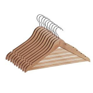 Bộ 10 móc áo JYSK Sigfrid gỗ tự nhiên 44.5x23x1.2cm thumbnail