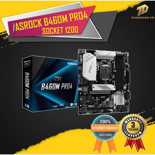 BO MẠCH CHỦ ASRock B460M-Pro4 m-ATX Socket 1200 thumbnail