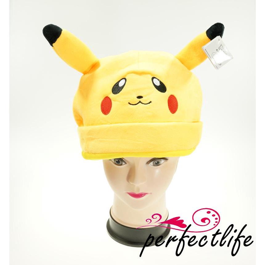 ★HZL-New Unisex Cosplay Winter Pokemon Plush Warm Hat Cap Beanie Costume