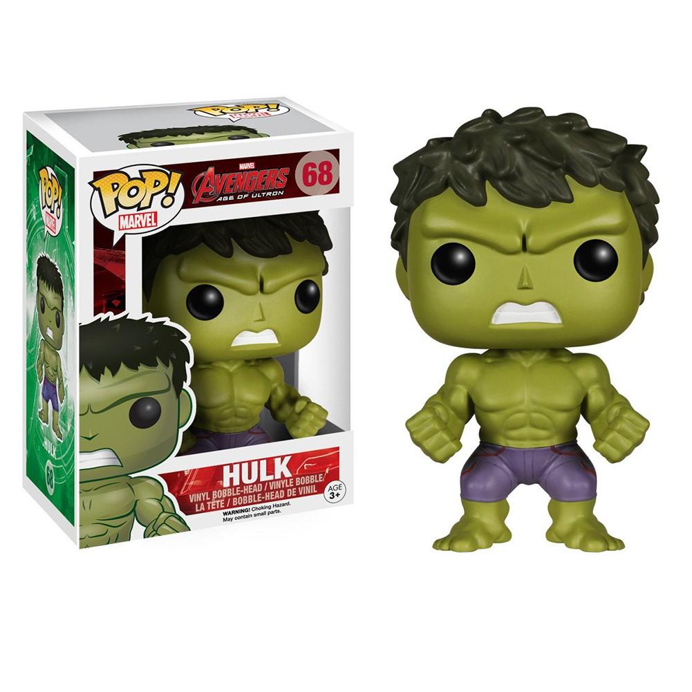 Funko Pop! Avengers Age Of Black Panther Hulk Thor Iron Man Vinyl Action Figure