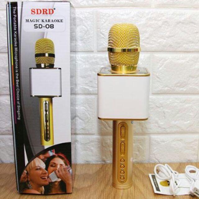 Micro không dây hát karaoke SD-08