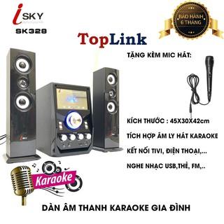 Dàn Âm Thanh Giải Trí Đỉnh Cao - Loa Vi Tính Hát Karaoke Âm Thanh Đỉnh Cao Có Kết Nối Bluetooth Isky - SK328