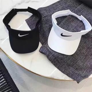 Nón Nửa Đầu Tennis Nam Nữ L=Mũ Lưỡi Trai thể Thao thêu Chữ