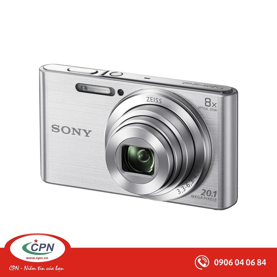 """Máy ảnh Sony Cyber-shot DSC-W830 - Độ phân giải 20.1 Mpx; Zoom 8X LCD screen 2.7""""; Zeiss Len"""