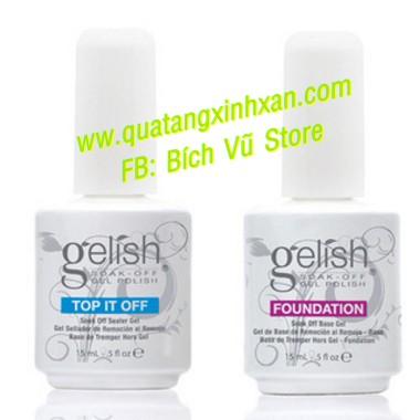Base gel & Top & PH (hàng chính hãng) 85k/chai