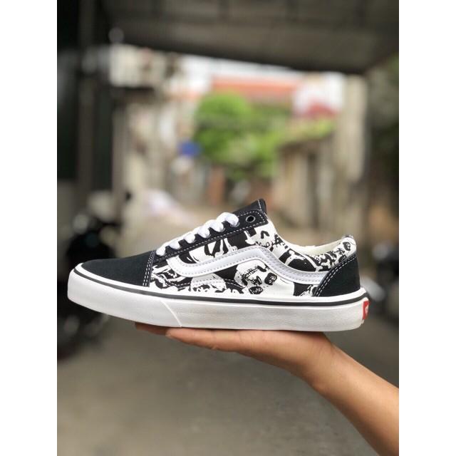 ⚡️[FULLBOX] Giày sneaker VAN đầu lâu