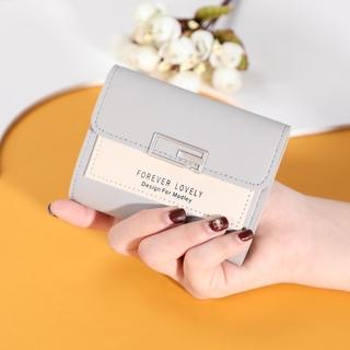 Hình ảnh Ví nữ thời trang ngắn cầm tay mini đẹp MADLEY cao cấp nhiều ngăn nhỏ gọn bỏ túi VD220-8
