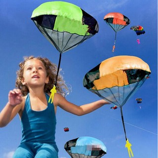 Throwing kids play parachute toy soldier Outdoor sports Toys