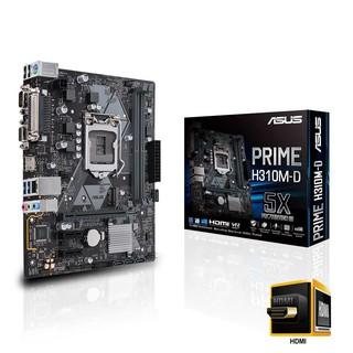 Main Asus H310M-D (Chipset Intel H310 Socket LGA1151 VGA onboard) thumbnail