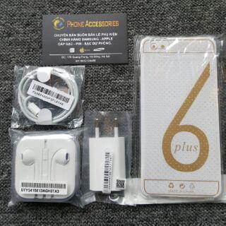 Combo Bộ Cáp Sạc Tai Nghe Iphone