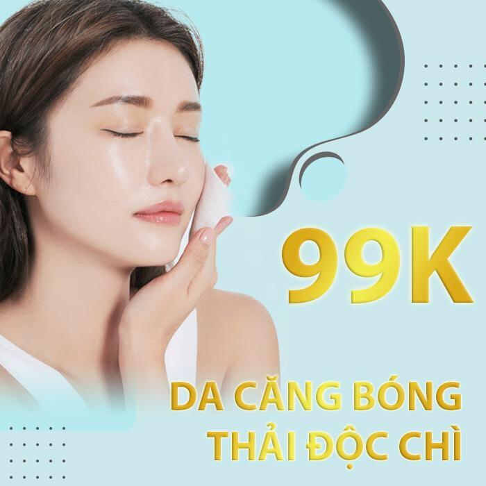 Hồ Chí Minh [E-Voucher] Chăm sóc da mặt thải độc chì thanh lọc da tươi trẻ công nghệ mới nhất 2020 Tại Bonita Spa