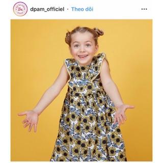 Váy hè xuất Pháp dư xịn cho bé gái