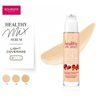 Kem nền BOURJOIS - Healthy Mix Serum Gel Foundation 30ml thumbnail