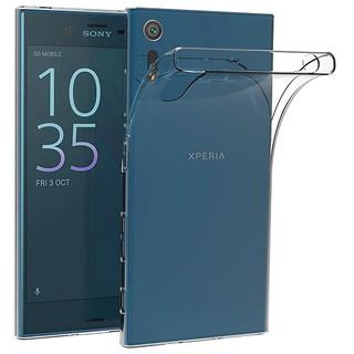 Ốp Điện Thoại Tpu Silicon Mềm Trong Suốt Siêu Mỏng Cho Sony Xperia Xz / Xzs