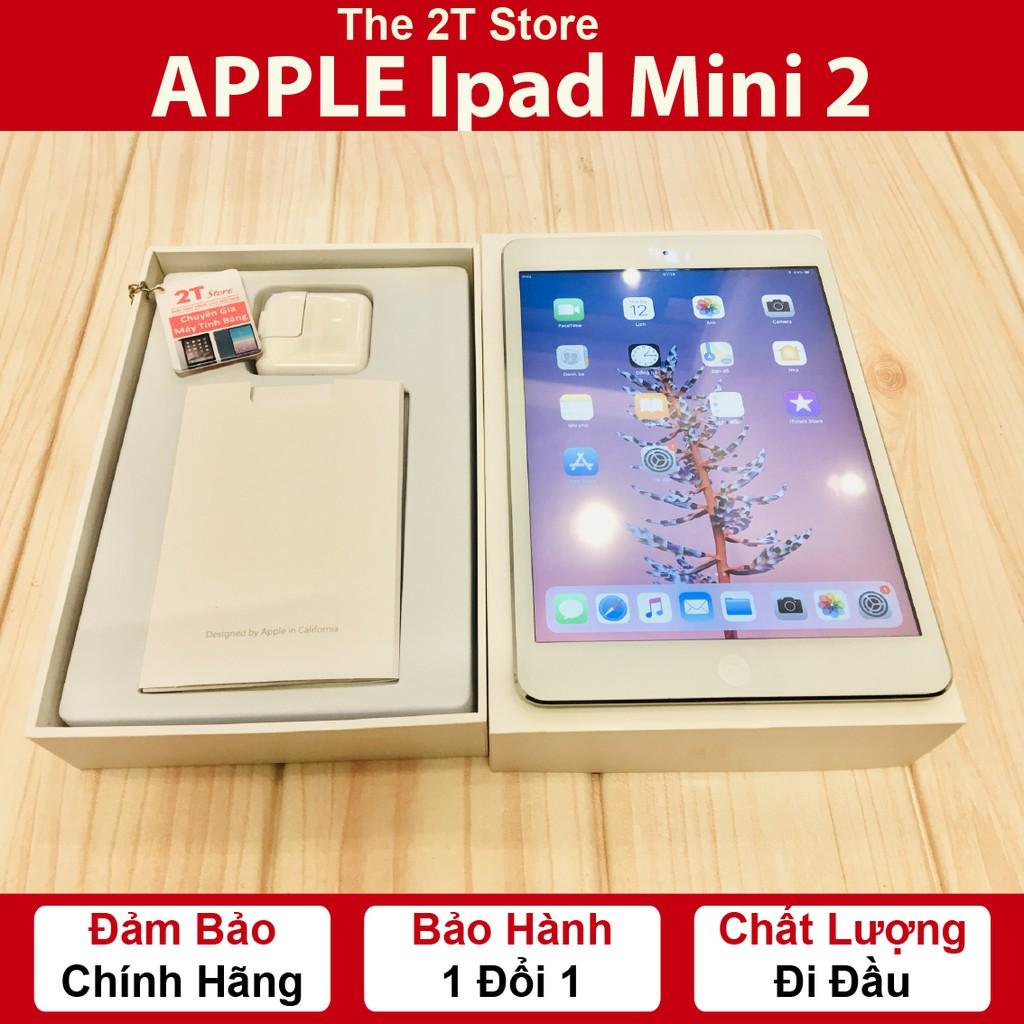 [Mã ELMT1M5 hoàn 6% đơn 1.5TR] 🎁Máy tính bảng Apple Ipad Mini 2 (Fullbox) (Wifi + 4G)