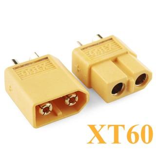 [Mã NOWSHIPVUI2 giảm 25k đơn 50k] Jack cắm XT60 (Jack cắm điện 1 chiều dòng cao 60A)