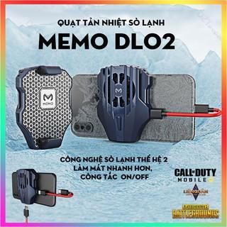 MEMO DL02 , DL03 THẾ HỆ 2 -TẢN NHIỆT NHANH HƠN Quạt tản nhiệt gaming cho điện thoại, tản nhiệt sò lạnh siêu mát thumbnail