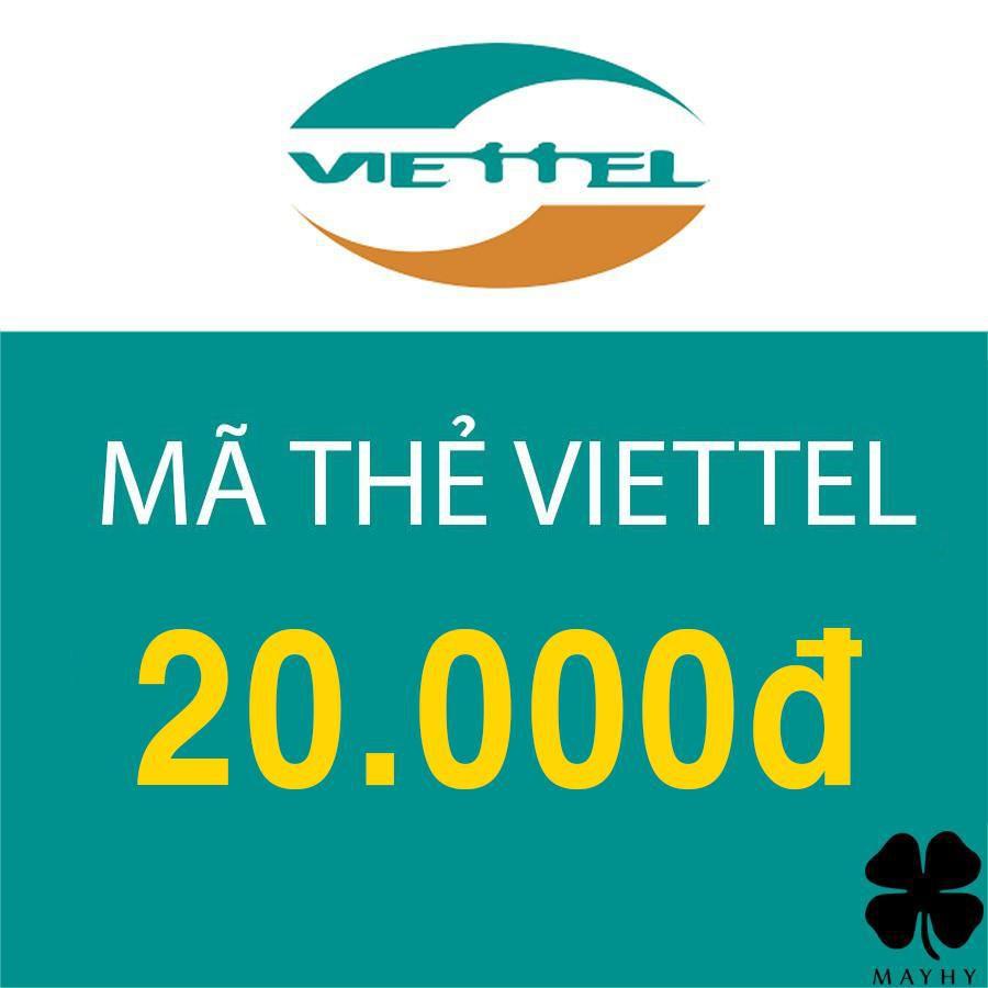 Mã thẻ Viettel 20.000