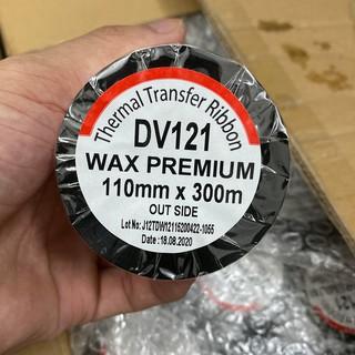 [Mã ELDEC10K giảm 10K đơn 20K] Cuộn mực in mã vạch, giấy than in mã vạch 3 tem 110x300m Premium DV121 thumbnail