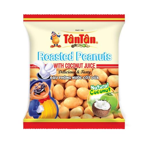 Combo 10 gói đậu phộng nước cốt dừa Tân Tân gói 15gr