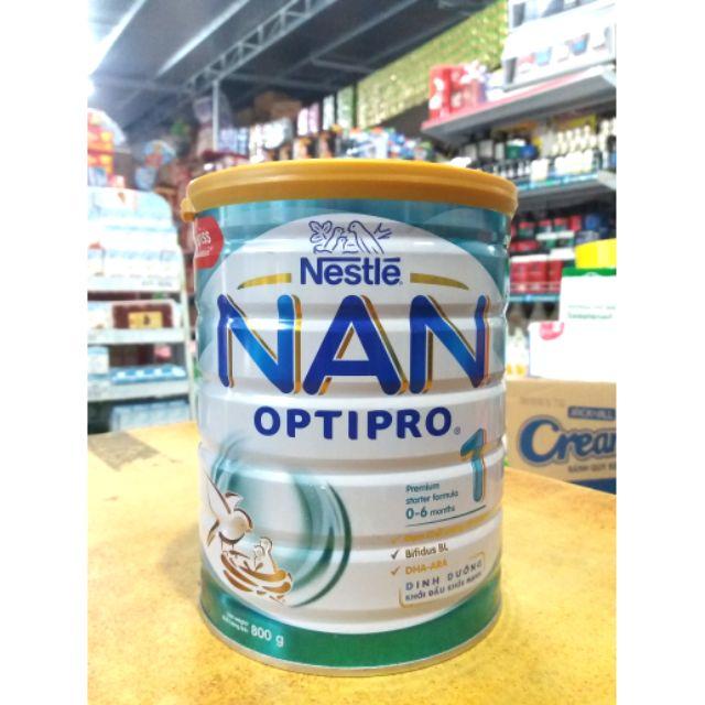 Sữa bột NAN OPTIPRO 1 - 800G cho bé từ 0- 6 tháng tuổi.