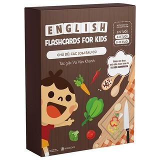 Bộ Thẻ Học Tiếng Anh chủ đề Các Loại Rau Củ - Flashcard thumbnail