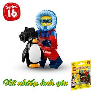 LEGO Minifigures Nữ Nhiếp Ảnh Gia
