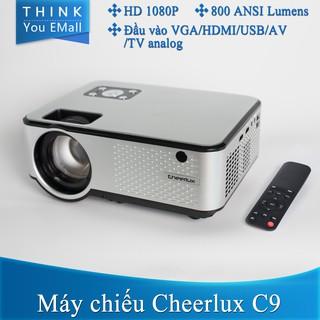 Máy chiếu LCD Cheerlux C9 2800 lumens Máy chiếu gốc HD 1080P CL720 projector