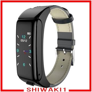 Bộ Vòng Tay Thông Minh Bluetooth V4.0 Giám Sát Nhịp Tim Shiwaki1