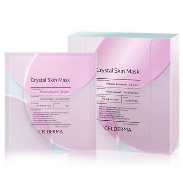 MẶT NẠ THẠCH ANH CELDERMA CRYSTAL SKIN